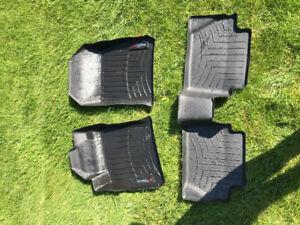 Ford Fiesta weathertech floor mats
