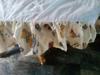 TEDDY BEAR CRIB SKIRT
