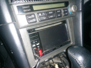 Pioneer touch screen deck