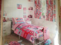Brand new girl bedding set