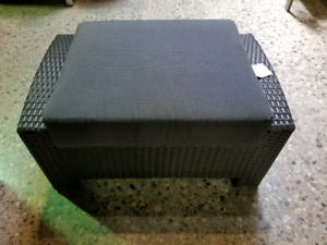 All Weather Patio Ottoman