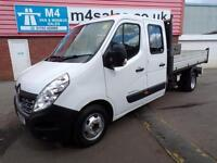 Renault Master LL35 BUSINESS DCI CREWCAB TIPPER
