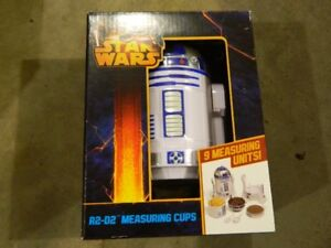 STAR WARS R2D2 MEASURING CUPS BRAND NEW