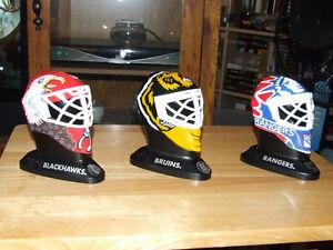 3 McDonalds Mini Goalie Masks - 1996 - $5.00 EACH or $13.00 ALL Belleville Belleville Area image 1