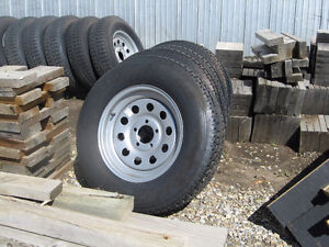 """New Trailer Tires & Wheels """"Various Sizes Available"""""""