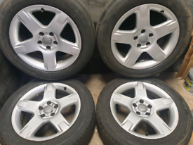 17 inch 5x112 genuine Audi A6 Allroad alloy wheels