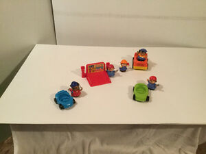 Fisher price petites autos