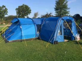 Hi Gear Kalahari Elite 8 Family Tent With Porch & Carpet