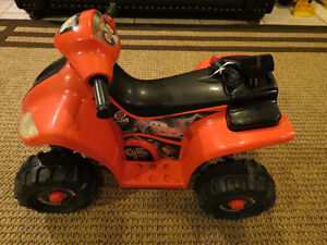 Disney Cars 6 Volt Battery Operated Ride On Quad