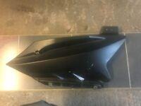 Yamaha YZF R125 Left Lower Fairing Panel Black