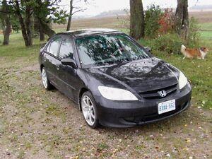 2005 Honda Civic Sp ED Sedan