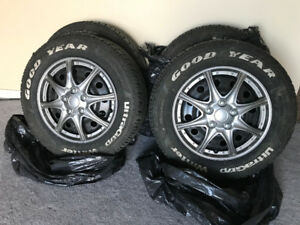 Winter tires - Lots of thread left (Goodyear) Price Reduced