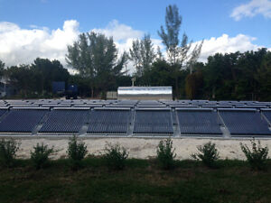 Solar water thermal systems for Commercial and industrial