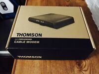 Thompson DCM476 cable modem NEW UNOPENED