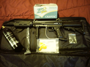 Valken black hawk paintball gun