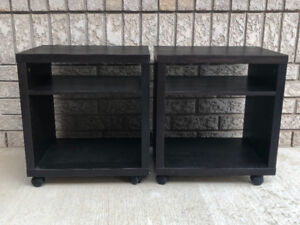 IKEA night stands/side tables
