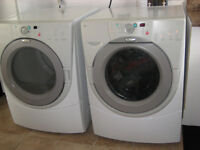 Laveuse & Sécheuse frontales Whirlpool DU Frontal Washer & Dryer