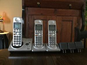 Panasonic 3 téléphones sans fil