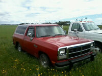 1991 Dodge Ramcharger For Sale