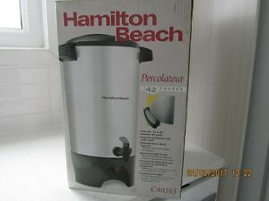 Percolateur Hamilton Beach, 42 tasses