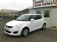 2012 SUZUKI SWIFT 1.2 SZ2 ONLY 44,013 MILES, FULL SERVICE HISTORY,£30 A YEAR TAX