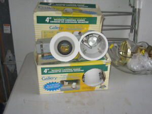 4 Sets Recessed Lighting Combo (4Inch) Complete