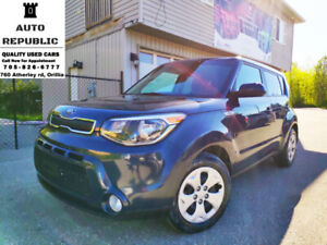 2015 Kia Soul LX, Gas Saver, Accident Free, CERTIFIED