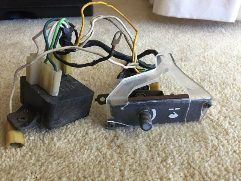 Holden Wiper Dwell Switch Facia HZ WB Commercial