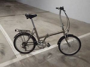 Pair of folding bikes for sale