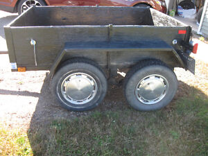 Great Utility Trailer - Small but Tough