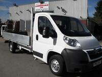63 REG CITROEN RELAY FORD TRANSIT FIAT DUCATO LWB L3 14FT DROPSIDE PICKUP!