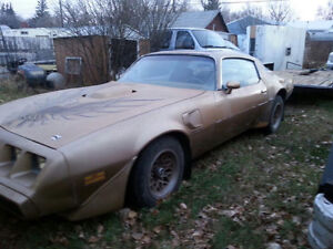 Selling 1979 trans am