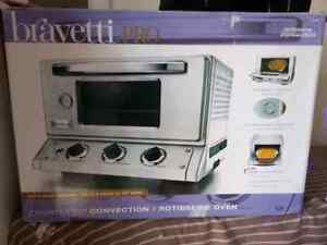 stainless steel bravetti pro counter top convectio