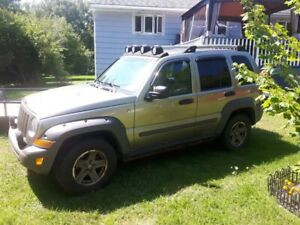 2005 Jeep Liberty Renegade for parts or repair