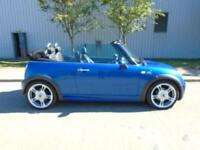 MINI COOPER S 1.6 CONVERTIBLE FULL LEATHER LOW MILEAGE