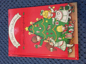 Joan Walsh Anglund All About My Christmas Near new/unused cute!!