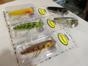 """NEW"" Arbogast 4-1/2"" Musky Jitterbug Fishing Lures"