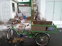 Tricycle de jardinage