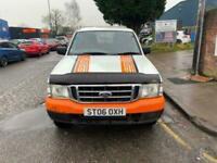 2006 06 FORD RANGER 2.5 DOUBLE CAB4X4 TD 4D 107 BHP**FULL MOT** DIESEL
