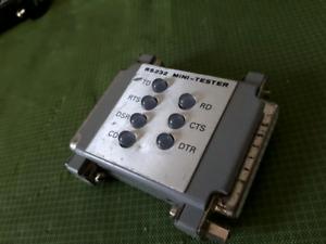 RS-232 MINI TESTER