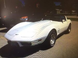 1979 corvette ( PREVIOUS SHOW CAR )