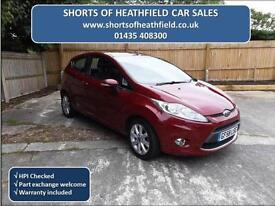 Ford Fiesta 1.4TDCi Zetec (NEW DESIGN) Turbo Diesel - 3 Door Hatchback - 2009