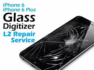 iPhone 6S Cracked Screen Glass Replacement Repair Service