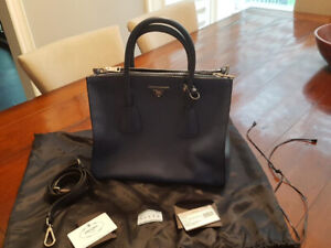 Prada Authentic City Calf Leather Bag