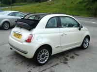 2013 Fiat 500 C 1.2 Lounge Convertible **40,000 miles**