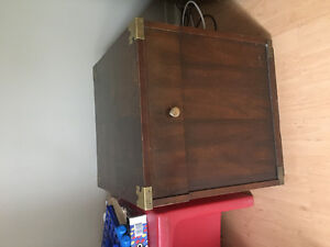 Filing cabinet/end table