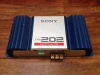 Sony EXM 202 car stereo amp