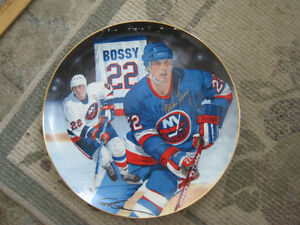 Collector Plates – 22 Mike Bossy (10.25 inches)