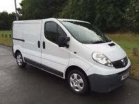 Vauxhall Vivaro Swb 2011 61 reg all credit cards accepted