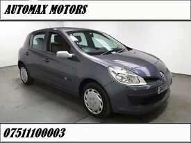 Renault Clio 1.2 16v Expression 5dr, p/x welcome 6 MONTHS FREE WARRANTY , 1 OWNER